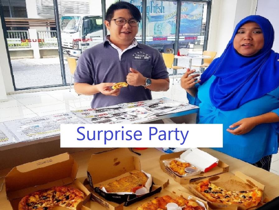 ISUZU Staff Surprise Party
