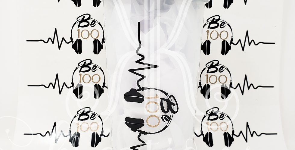 Be100 Headphone Decal