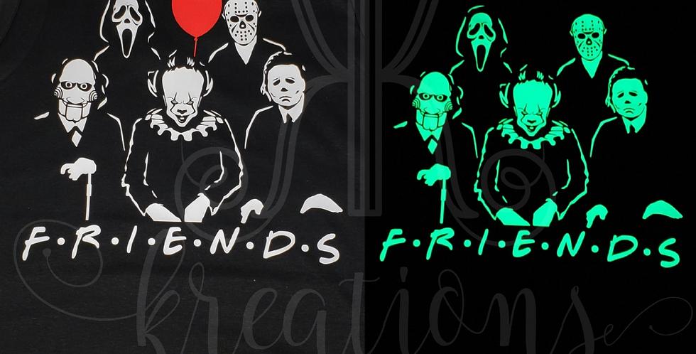 Horror FRIENDS Glow-in-the-Dark Shirt