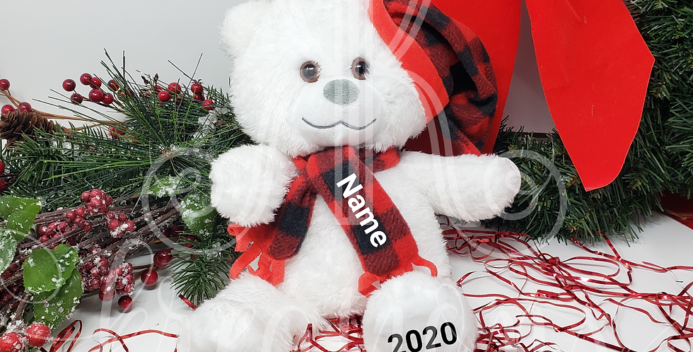Hallmark Holiday Bear - Personalized