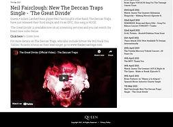 Queenonline The Deccan Traps The Great Divide Neil Fairclough Ricardo Afonso
