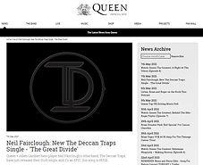 Queen online The Deccan Traps The Great Divide Neil Fairclough Ricardo Afonso