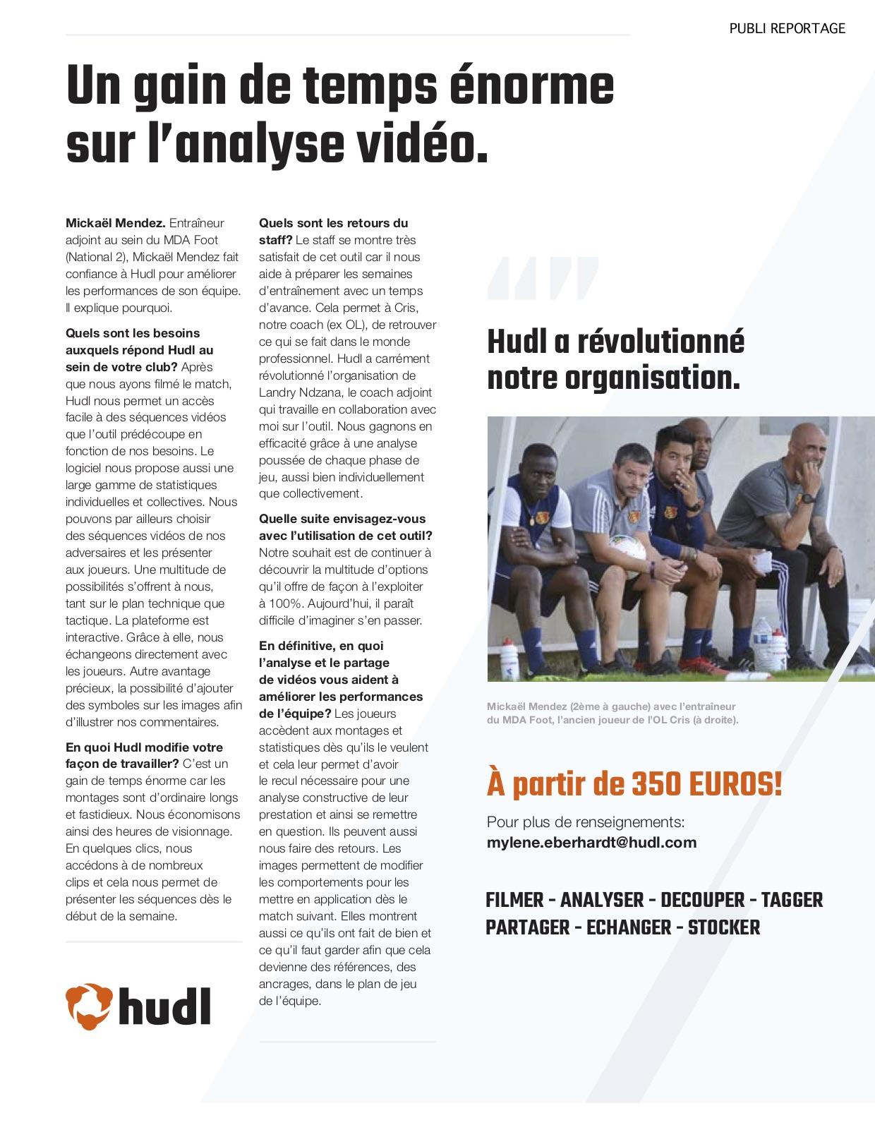 Publi-reportage HUDL 1