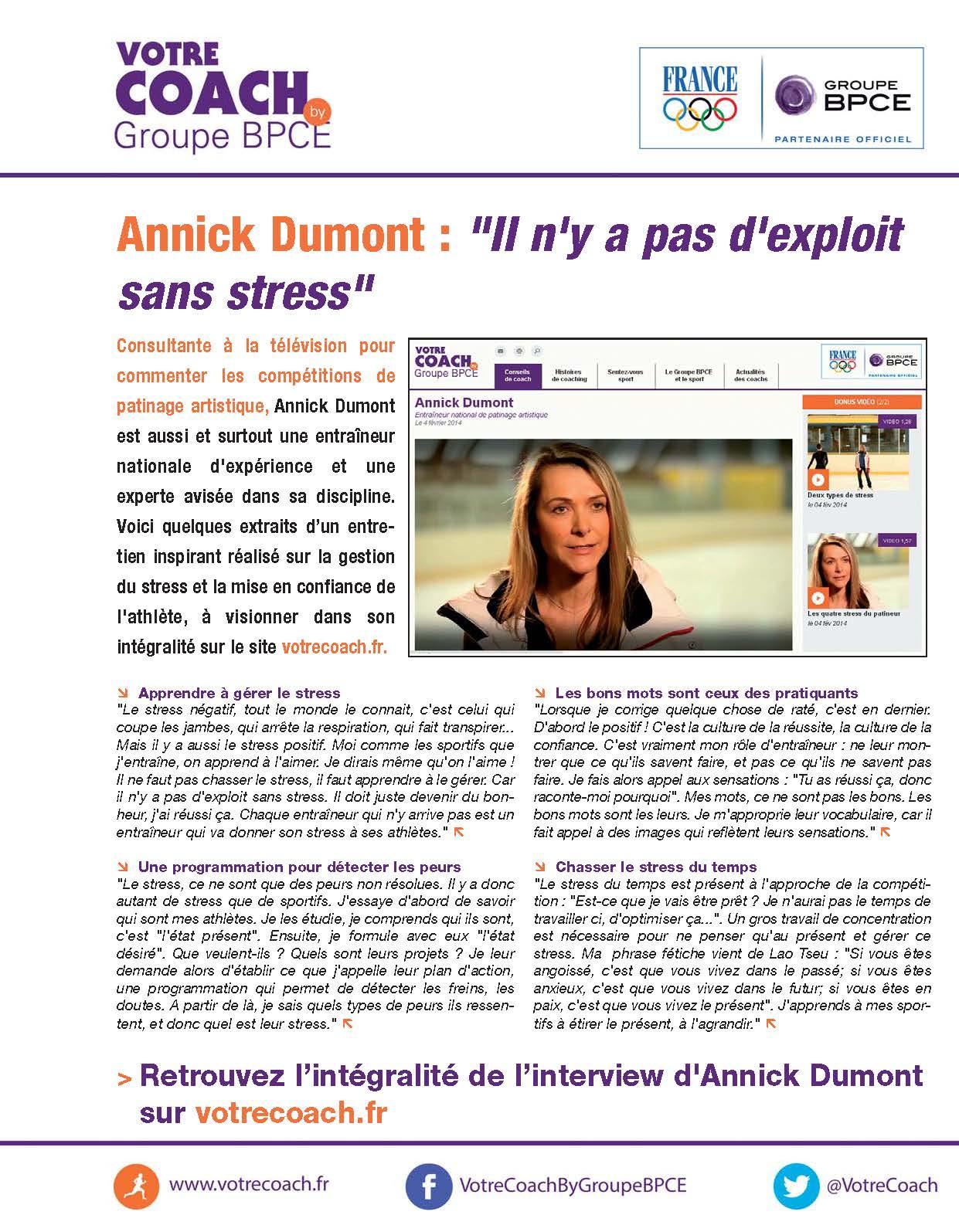 VOTRECOACH - Annick Dumont