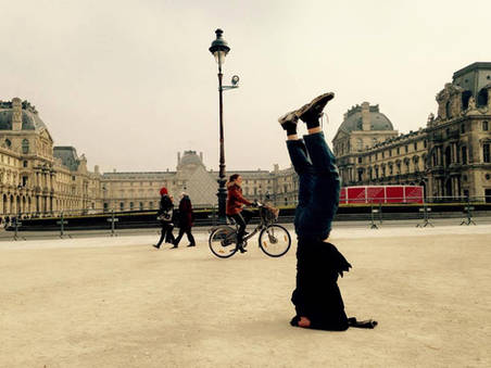 A Headstand in Paris