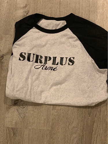 Surplus Arme Baseball Tee