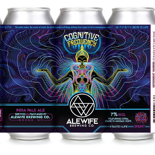 Cognitive Frequency - IPA - 7% - 4pk - 16oz Cans