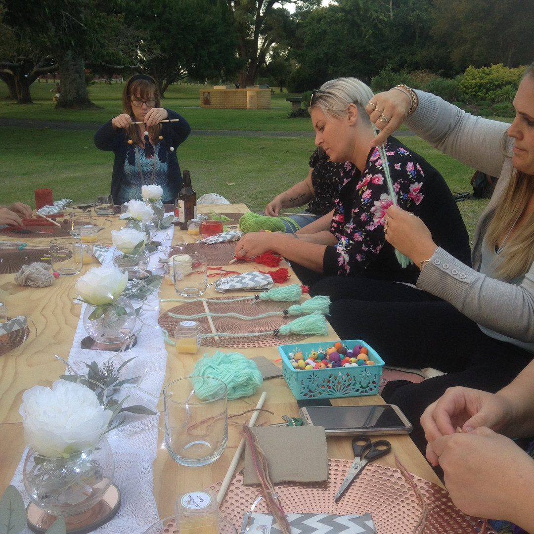 Outdoor Crafting