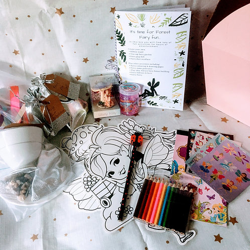 Forest Fairy Activity Box