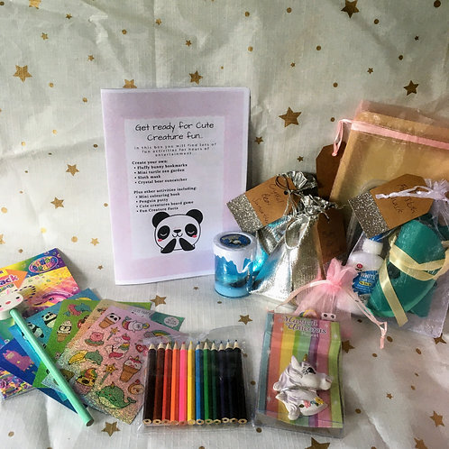 Cute Creatures Activity Box