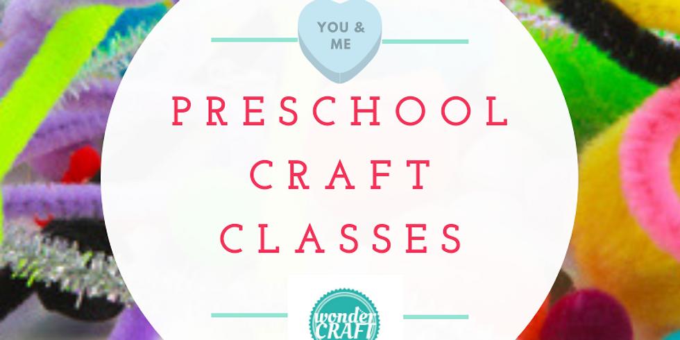 Preschool Craft Club - Term 1
