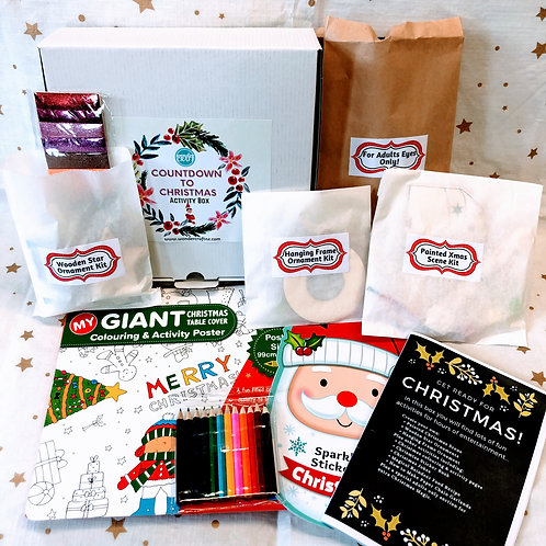 Countdown to Christmas Activity Box