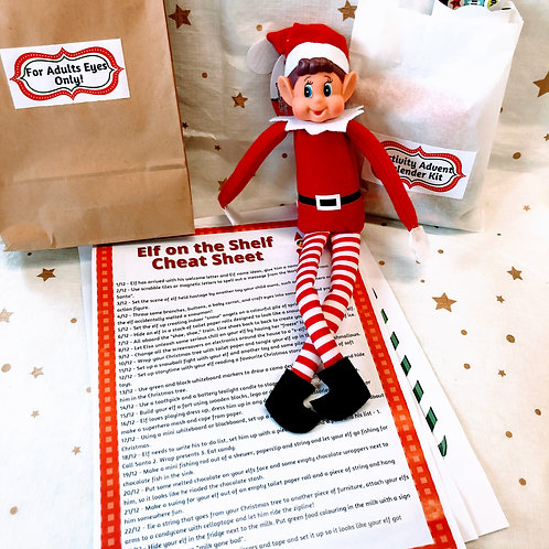 Elf on the Shelf Activity Kit