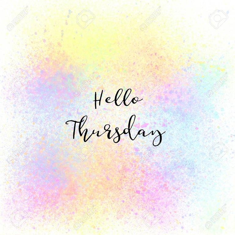 Full Day - Thursday 15th July