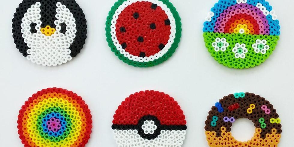 Kids Craft: Perler Bead Creations