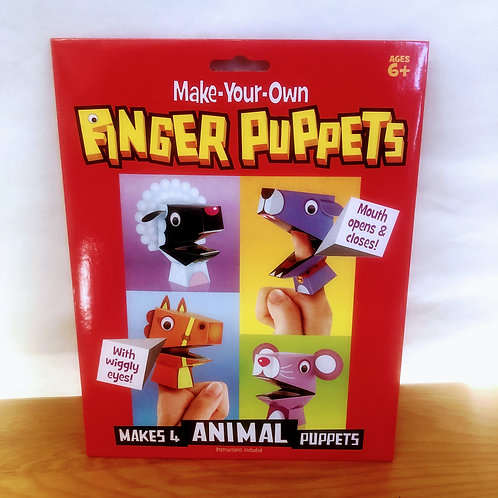 Make Your Own Animal Finger Puppets Kit