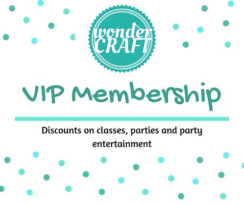 Wondercraft VIP Membership