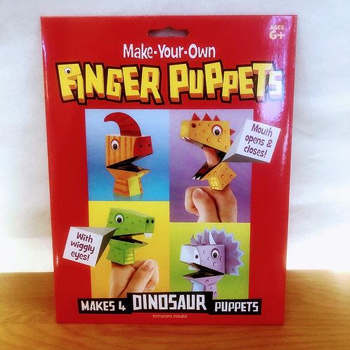 Make Your Own Dinosaur Finger Puppets Kit