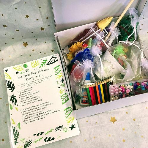 Forest Fairy Jumbo Activity Box
