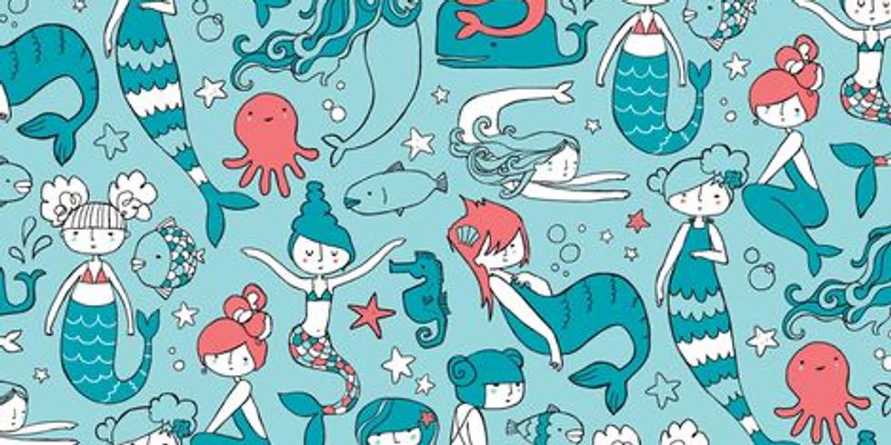 Kids Craft: Mermaid Creations