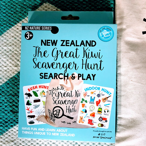 The Great Kiwi Scavenger Hunt Game