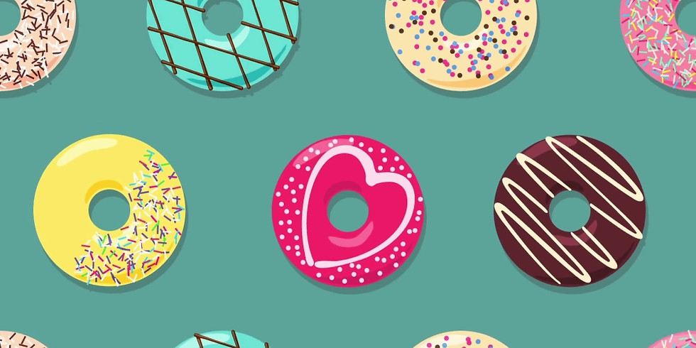 Kids Craft: Donut Worry Be Happy