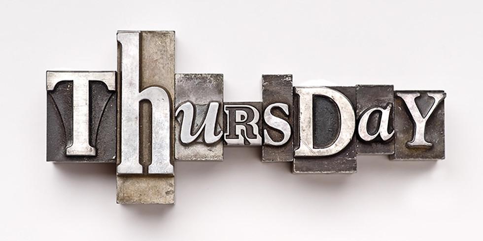 Full Day - Thursday 16th January