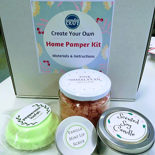 Create Your Own - Home Pamper Kit