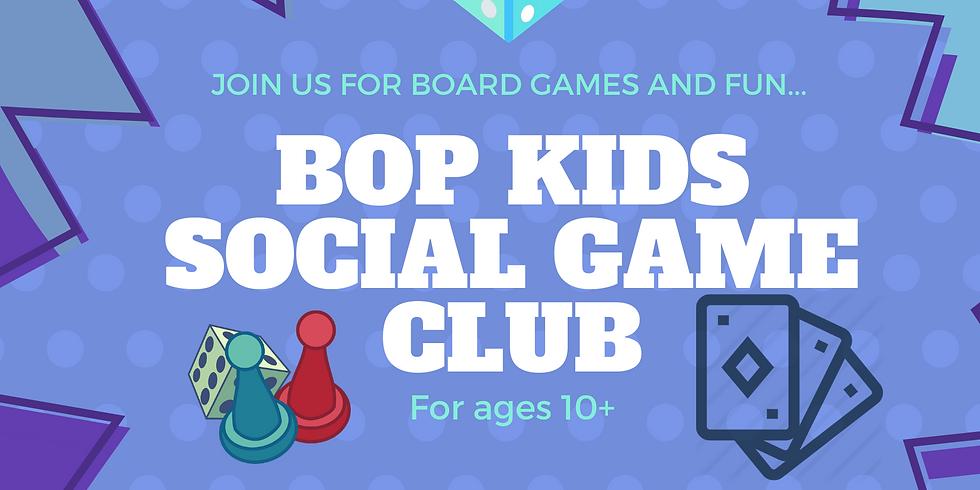 BOP Kids Social Game Club