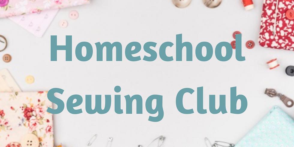 Homeschool Sewing Club - Term 3