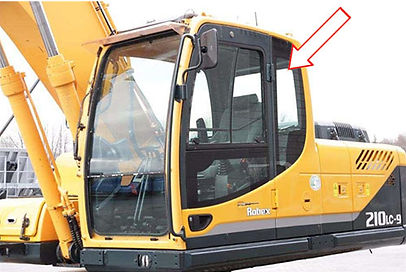 Стекло кузовное заднее левое для погрузчиков HYUNDAI ROBEX 210 LC-9| Стекло кузовное заднее левое для погрузчиков HYUNDAI ROBEX 260 LC-9 | Стекло кузовное заднее левое для погрузчиков HYUNDAI ROBEX 290 LC-9 | Стекло кузовное заднее левое для погрузчиков HYUNDAI ROBEX 300 LC-9  | Стекло кузовное заднее левое для погрузчиков HYUNDAI ROBEX 330 LC-9 | Стекло кузовное заднее левое для погрузчиков HYUNDAI ROBEX 450 LC-9 | Стекло кузовное заднее левое для погрузчиков HYUNDAI ROBEX 480 LC-9  | кузовное заднее левое | 7120401 Хюндай | Хенде |