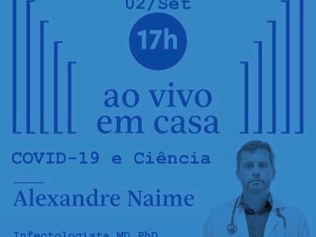 COVID-19 e Ciência: Live da Folha de São Paulo