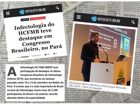 Infectologia do HCFMB teve destaque em Congresso Brasileiro, no Pará