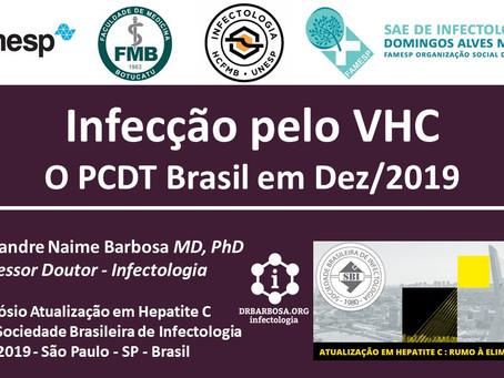 Hepatite C - O PCDT Brasil em Dez/2019
