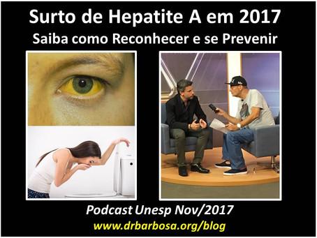 Surto de Hepatite A em 2017 - Saiba como Reconhecer e se Prevenir