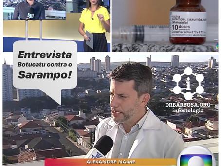 Botucatu contra o Sarampo, Vacinar para manter esse Vírus fora da cidade - Mutirão de Vacinação em A