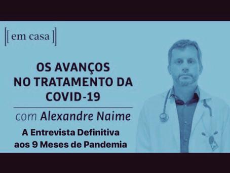 Live da Folha: A Entrevista Definitiva aos 9 Meses de Pandemia