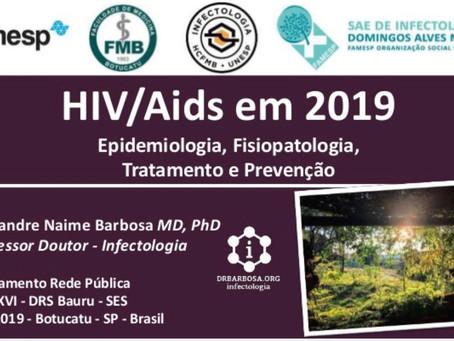 HIV / Aids em 2019 - Profissionais de Saúde