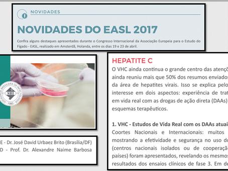 Novidades das Hepatites Virais no EASL 2017