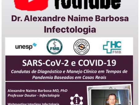 Webmeeting COVID-19: Condutas de Diagnóstico e Manejo Clínico em Tempos de Pandemia Baseadas em Caso