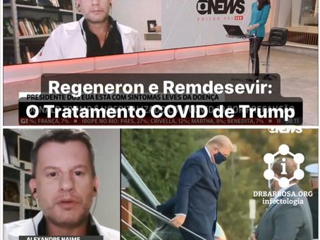 O Tratamento COVID de Trump: Regeneron e Remdesivir, conheça mais sobre essas medicações