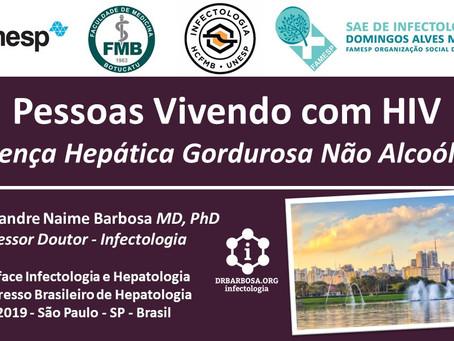 Doença Hepática Gordurosa Não Alcoólica em Pessoas Vivendo com HIV - Congresso Brasileiro de Hepatol