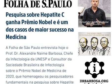Pesquisa sobre Hepatite C ganha Prêmio Nobel e é um dos casos de maior sucesso na Medicina