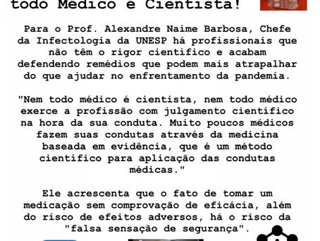 O Curioso Caso da Ivermectina revela: nem todo médico é cientista!