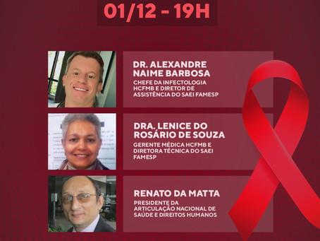 Live HIV/Aids quase Quanrentona: o que aprendemos nesses últimos 40 anos?