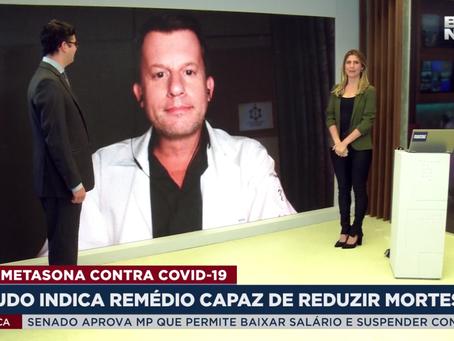 Dexametasona COVID Alexandre Barbosa Infectologia