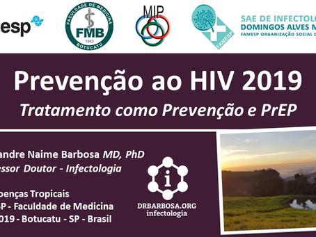 Prevenção ao HIV 2019 - Tratamento como Prevenção e PrEP