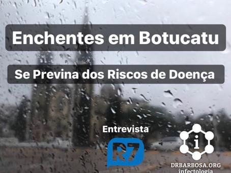 Enchentes em Botucatu: saiba como se prevenir dos riscos à saúde