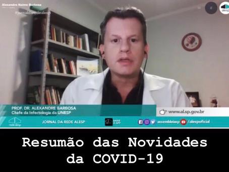 Últimas Novidades da COVID-19