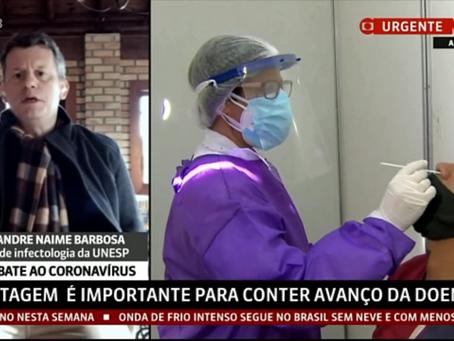 Testagem com RT-PCR é fundamental para o controle da Pandemia COVID-19